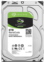 HDD SATA Seagate  6000Gb, ST6000DM003, Barracuda Guardian 5400 rpm, 256Mb buffer