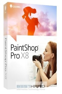 PaintShop Pro X8 Corporate Edition License Media Pack ML [LMPPSPX8MLEU ]