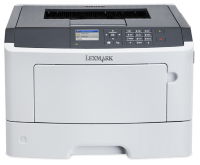 Lexmark Singlefunction Mono Laser MS417dn ( A4, 38 ppm, 256 Mb, 1 tray 150, USB,  Duplex, Cartridge 2500 pages in box, 1+3y warr. )