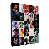 Adobe Creative Suite 6 Master Collection: Photoshop, Illustrator, InDesign, Acrobat, Flash, Dreamweaver, OnLocation, Fireworks, Premiere, After Effects, Encore, Audition, Bridge