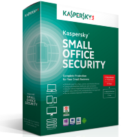Kaspersky Small Office Security 6 for Desktops, Mobiles and File Servers (fixed-date) Russian Edition. 15-19 Mobile device; 15-19 Desktop; 2 - FileServer; 15-19 User 1 year Renewal License [KL4536RAMFR]