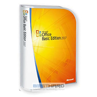 Microsoft Office 2007 Basic PKC Microcase [S55-02293]
