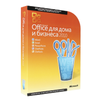 Microsoft Office 2010 Home and Business (x32/x64) OEM [T5D-00044]