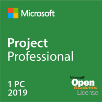 Project Professional 2019 RUS OLP NL Acdmc w1PrjctSvrCAL [H30-05826]