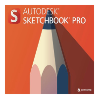SketchBook - For Enterprise 2018 Commercial New Single-user ELD Annual Subscription [871J1-WW9613-T408]