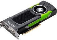PNY Nvidia Quadro P6000 24GB PCIE 4xDP1.4+DVI-D+3pin 3D-Stereo 384-bit 3840 Cores DDR5 3xDP to DVI-D (SL) adapter+Stereo connector bracket, Retail