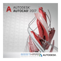 Autodesk AutoCAD 2017 Commercial New Single-user ELD 2-Year Subscription with Basic Support ACE PROMO [001I1-WW7756-T580]