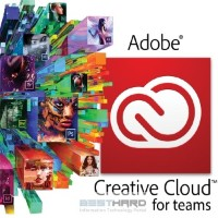 Creative Cloud for teams - All Apps ALL Multiple Platforms Multi European Languages Licensing Subscription [65270773BA01A12] (Подписка на 1 год)
