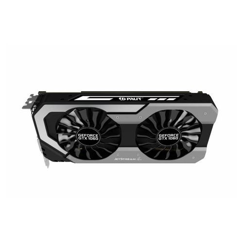 Видеокарта PALIT GeForce GTX 1060,  PA-GTX1060 Jetstream 3G,  3Гб, GDDR5, Ret [ne51060015f9-1060j]