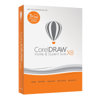 CorelDRAW Home & Student Suite X8 RU