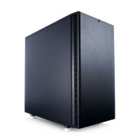 Корпус mATX FRACTAL DESIGN Define Mini C, Mini-Tower, без БП,  черный