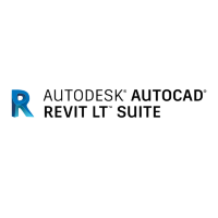 AutoCAD Revit LT Suite 2019 Commercial New Single-user ELD Annual Subscription [834K1-WW8695-T548]