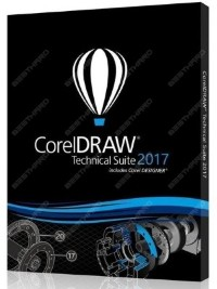 CorelDRAW Technical Suite 2017 Upgrade License 251-2500