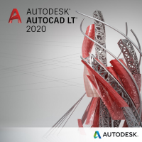 AutoCAD LT 2020 Commercial New Single-user ELD 3-Year Subscription