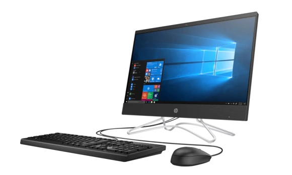 "HP 200 G3 All-in-One NT 21,5"" Core i3-8130u,4GB,500GB,DVD-WR,kbd USBmouse,Realtek AC 1x1 WW with 1 Antenna,Jet Black Plastic,FreeDOS,1-1-1 Wty"