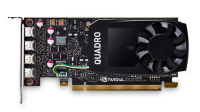 PNY Nvidia Quadro P1000 4GB DDR5, PCIE, 128-bit 640 Cores, 4*mDP1.4, 4*mDP to DP 1xmDP to DVI-D SL adapter, LP bracket, Retail