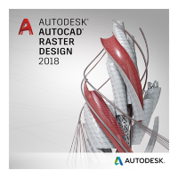 AutoCAD Raster Design 2018 Commercial New Multi-user ELD 3-Year Subscription [340J1-WWN469-T143]