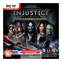 Injustice: Gods Among Us Ultimate Edition [PC, Jewel, русские субтитры] [1CSC20000901]