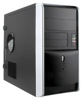 Mini Tower InWin EMR007 500W RB-S500HQ70 H U3.0*2+A(HD) mATX Black/silver