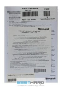 Microsoft Windows Server 2008 Standard R1 ROK (x64) 5 CAL 1-4 CPU OEM [P73-04001]