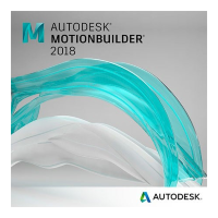 MotionBuilder 2018 Commercial New Single-user ELD 2-Year Subscription [727J1-WW2438-T436]