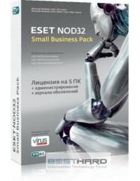 ESET NOD32 SMALL Business Pack newsale for 5 User (BOX) [NOD32-SBP-NS(BOX)-1-5]