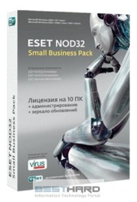 ESET NOD32 SMALL Business Pack newsale for 10 User (BOX)