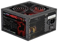 Блок питания Aerocool 775Вт Retail HERO 775, ATX v2.3, 80+ Bronze, 12cm red LED fan, Haswell Ready, A.PFC, 4x PCI-E (6+2-Pin), 6x SATA, 4x MOLEX